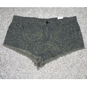 BDG Shorts Low Rise MIA Low & Loose Size 30 NWT